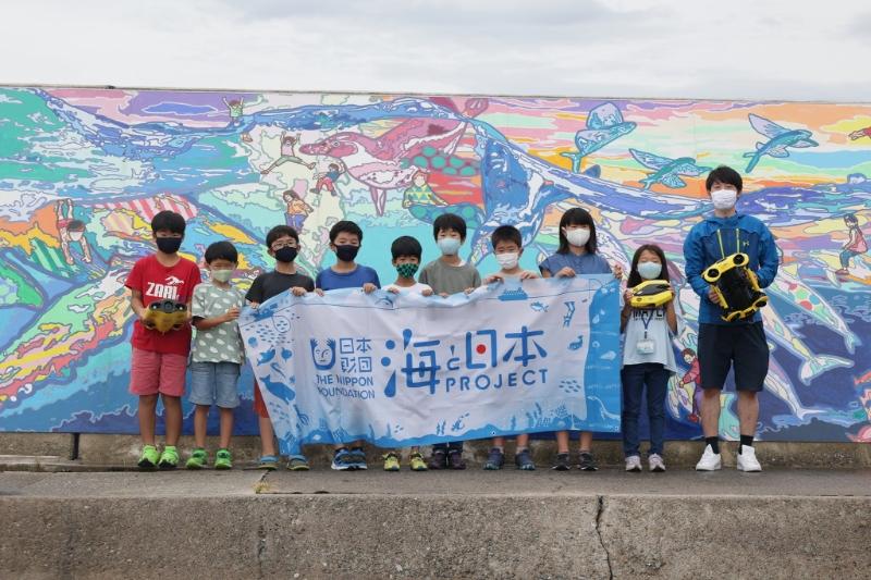 水中ドローンで知る「私たちの海」in富山