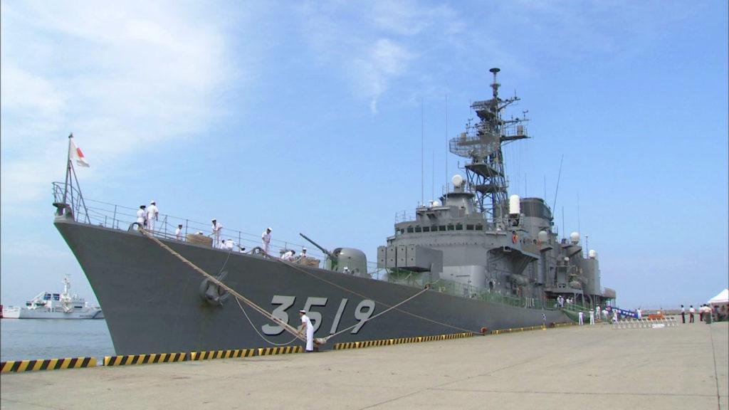 注目_和歌山_海上自衛隊練習艦「やまゆき」