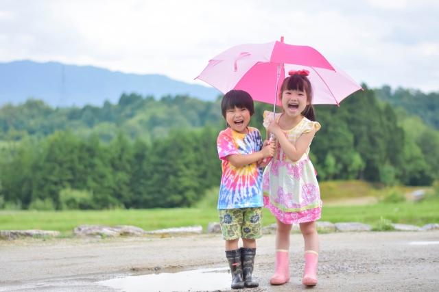 梅雨の時期とお出かけ情報