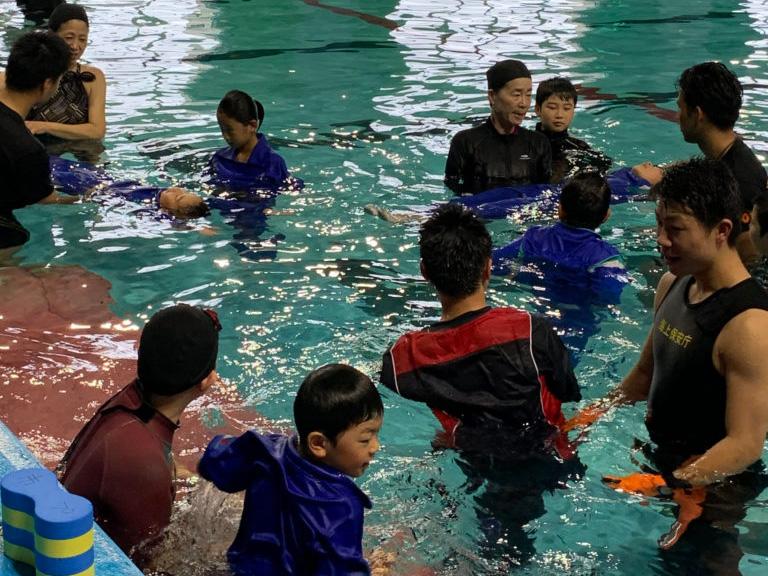 多賀城市で海の安全教室が開催されました!