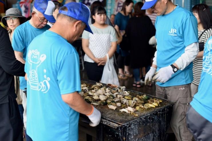 限界を超えたうまさ いわきの貝を喰らう「貝祭り」!