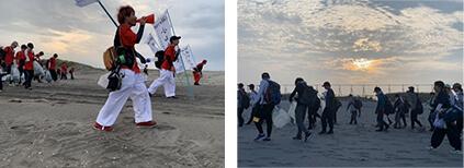 2002年から続く、千葉県九十九里浜全域清掃大作戦