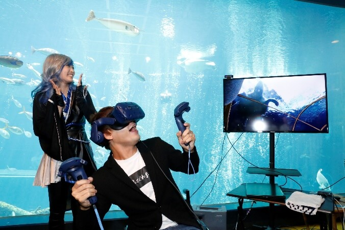「Virtual Ocean Project 期間展示 in 箱根園水族館 〜海と日本PROJECT〜」