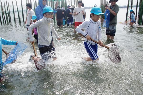 簀立て漁のお仕事をしよう!@千葉県 ~海と日本PROJECT~