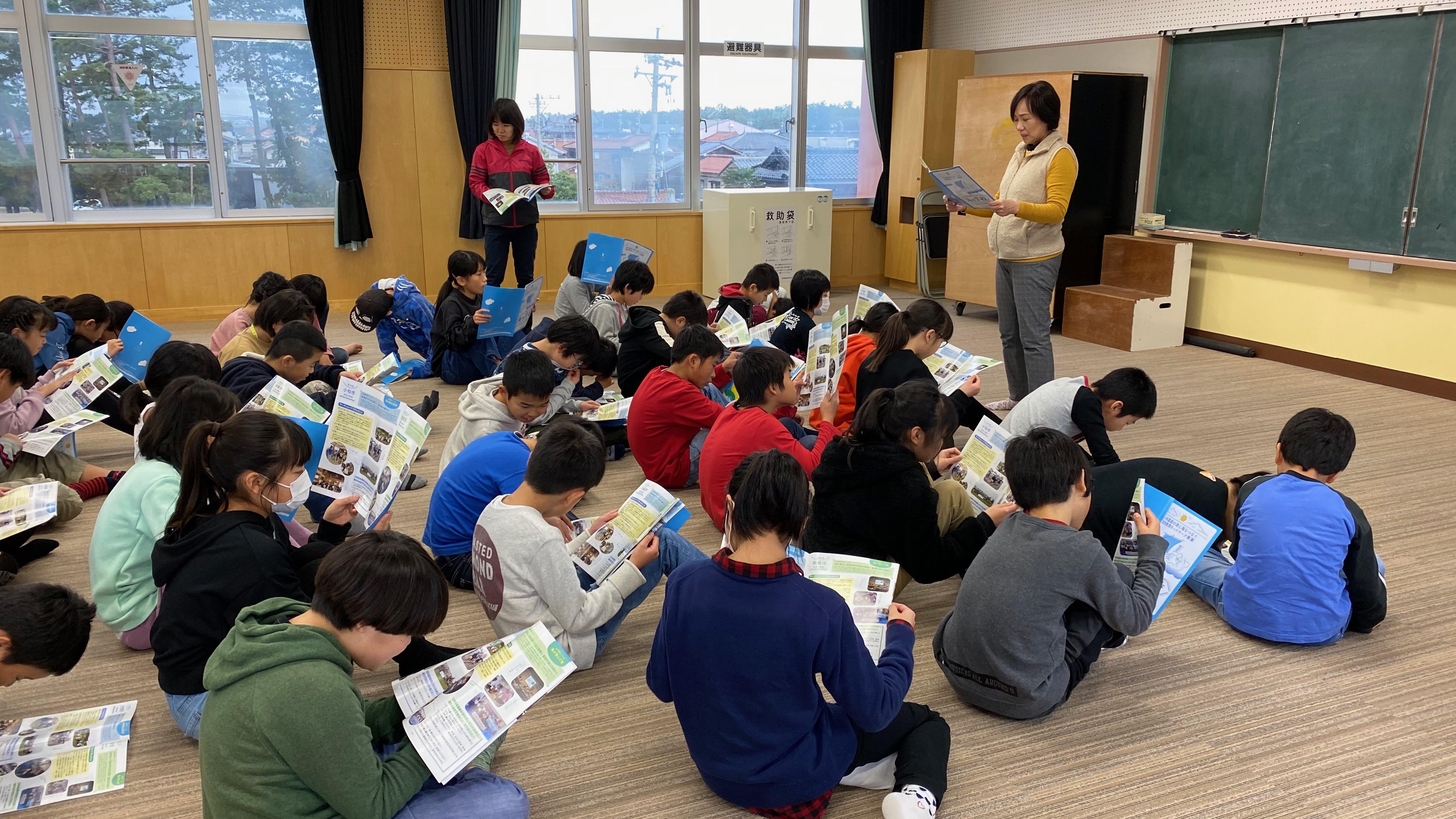 日本遺産の港と海をつなぐ海洋教育ネットワーク事業 in 石川2 〜海と日本PROJECT〜
