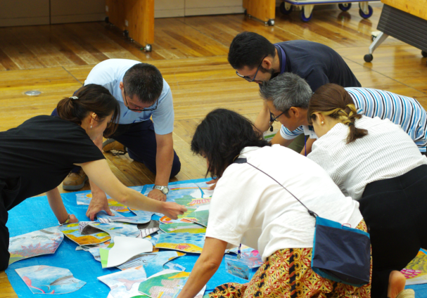 """午後の部「海×先生~""""自ら学ぶ力"""" を引き出す教育デザインとは~」を開催"""