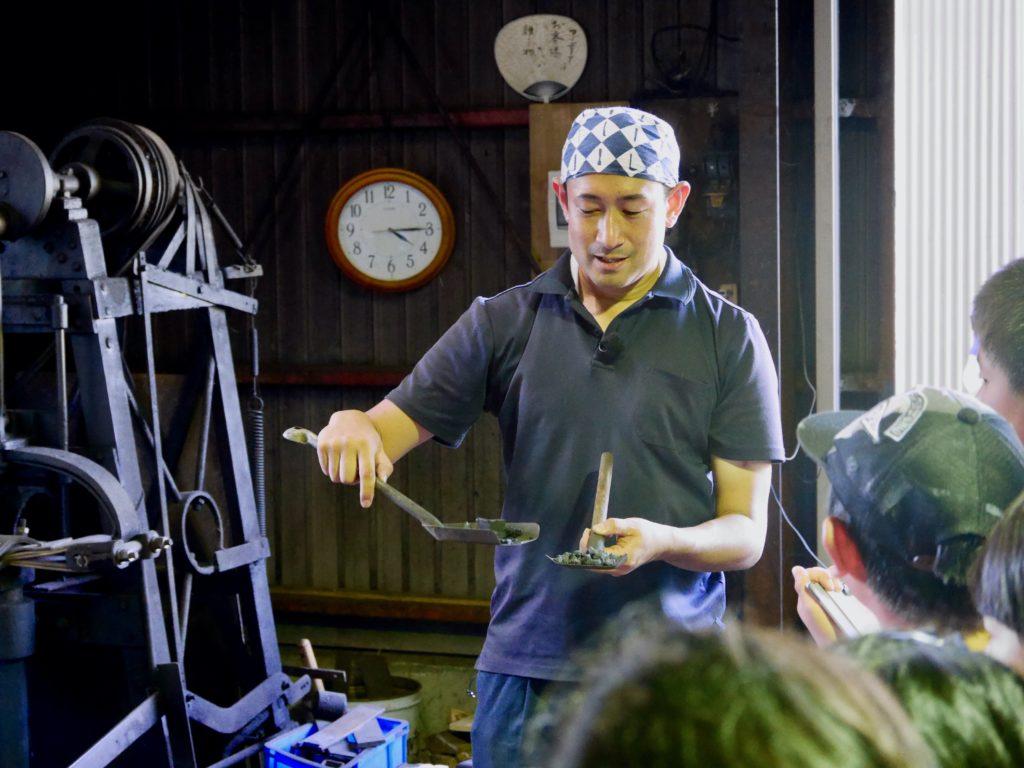 能登の里山里海に伝わる暮らしの道具で魚をさばこう