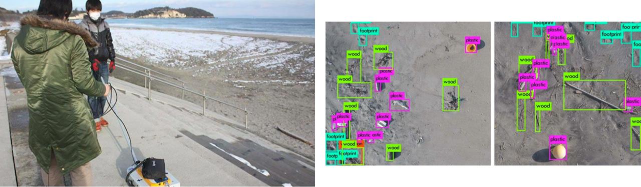 複合リモートセンシングとAIによる海洋プラスチックの自動検出