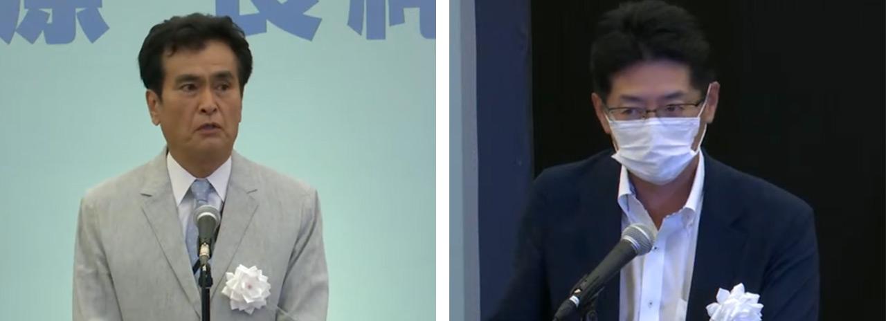 石原良純さん 日本財団の海野光行常務理事