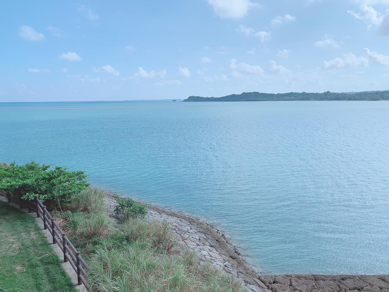 南の島の秋の海。沖縄うるま市と伊計島の撮影スポットを探して