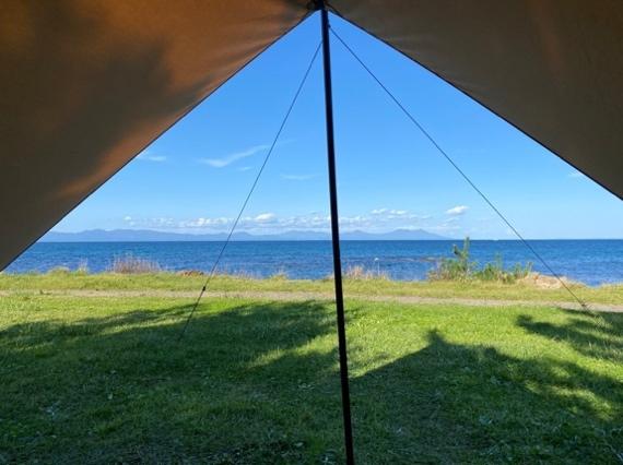 海の見えるキャンプ場が大人気!青森から3施設をご紹介