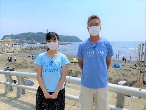 神奈川県では「由比ガ浜海水浴場」に続き2021年に「鵠沼海水浴場」も